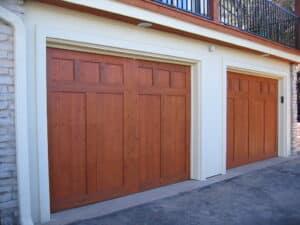 cedar garage door 1